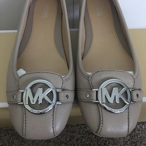 New Michael Kors Fulton Leather Flats